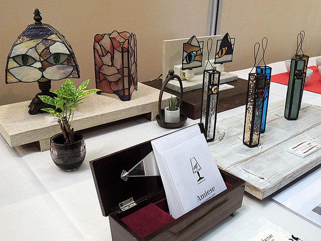 新潟県のクラフト展2013のようすです。|会場:新潟ふるさと村アピール館
