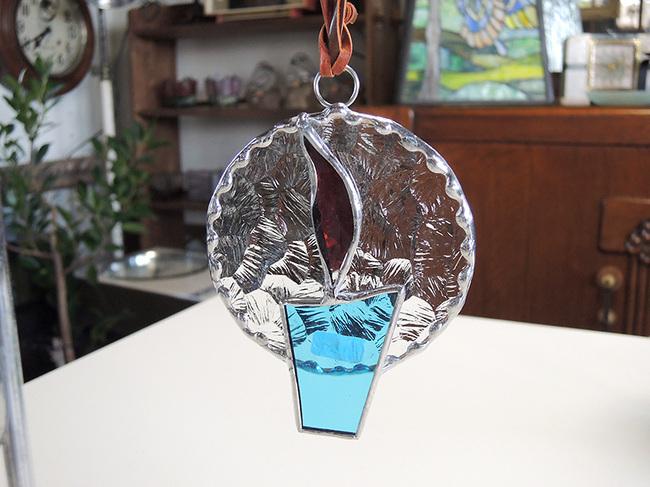 ステンドグラス小物雑貨~クリスマスオーナメント