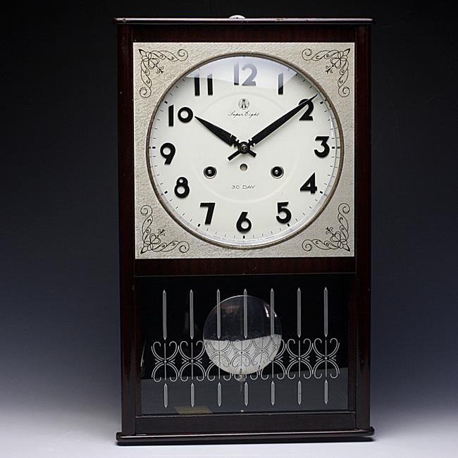AICHITOKEI(愛知時計)SuperEight 30DAY レトロ柱時計