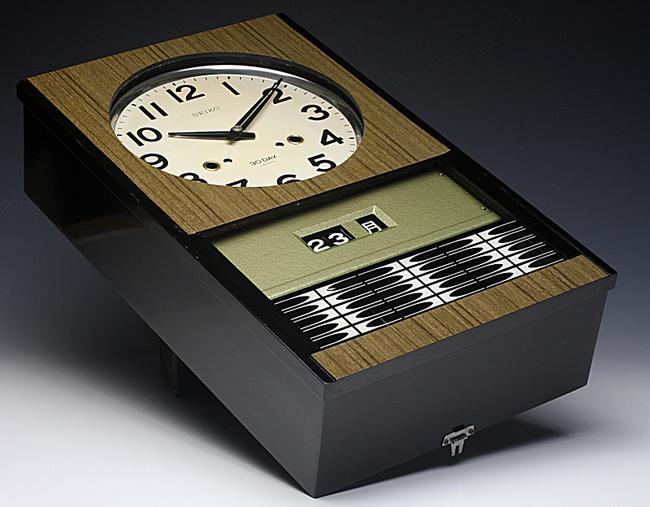 SEIKO(セイコー)製 30DAY/4PL カレンダー レトロ柱時計|ゼンマイ式