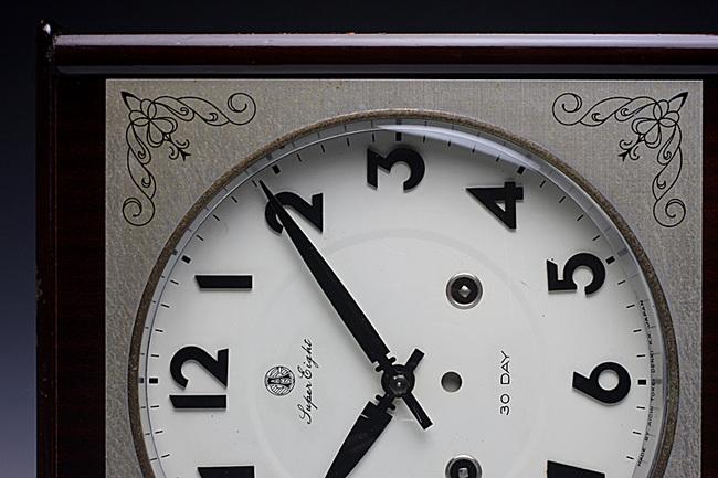 AICHITOKEI(愛知時計)SuperEight 30DAY レトロ柱時計・外観