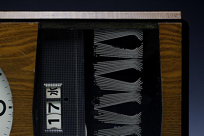!AKIKOSHA(愛工舎)製 31DAY カレンダー 柱時計