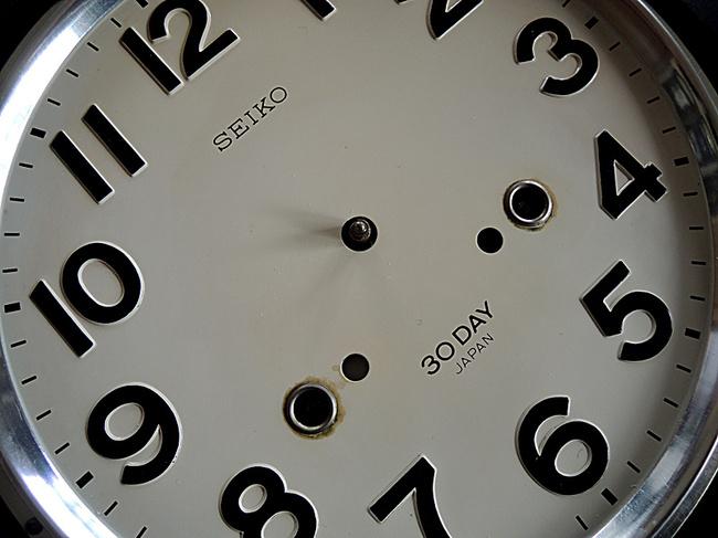SEIKO(セイコー)製 30DAY/4PL カレンダー レトロ柱時計|文字盤きれい