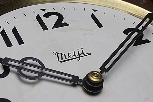 レトロ柱時計 Meiji文字盤