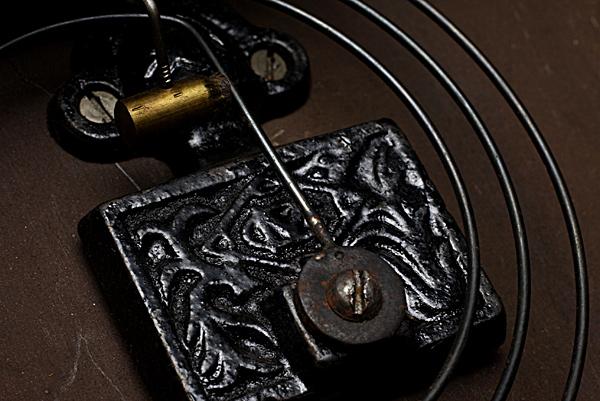 レトロ柱時計 Meiji