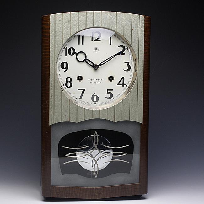 当時のハイセンスなデザイン!AICHITOKEI(愛知時計)製 14DAY