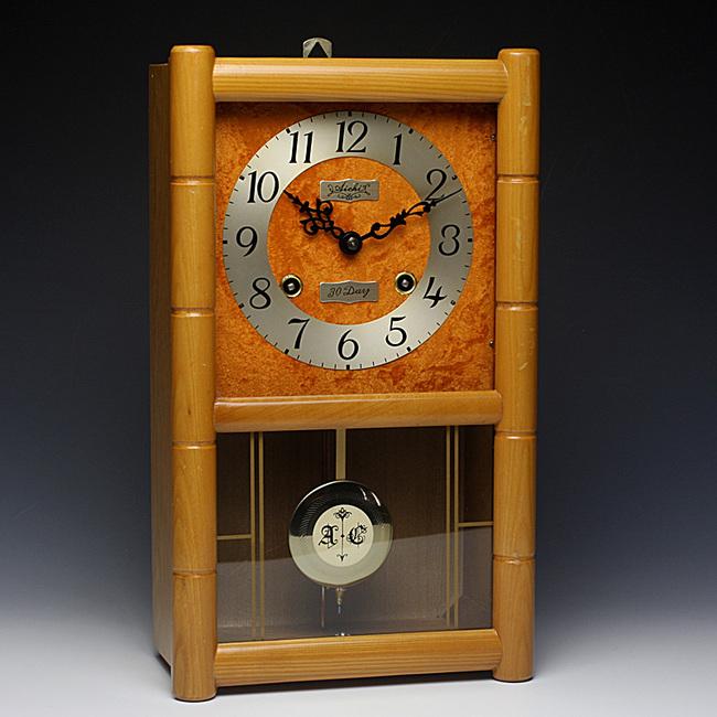 珍しいオレンジ起毛の文字盤!AICHITOKEI(愛知時計)製 30DAY
