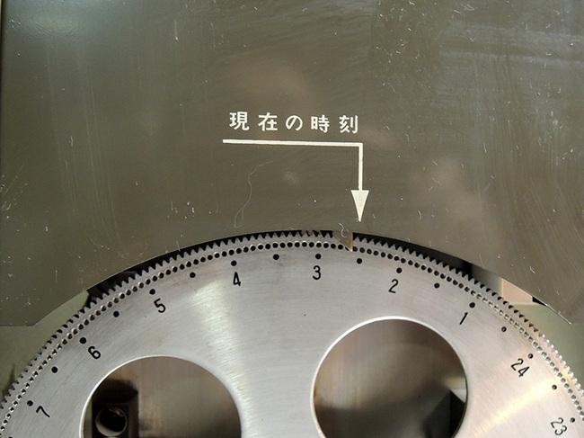 セイコー製(SEIKO)の電気式掛け時計・時刻ダイヤル