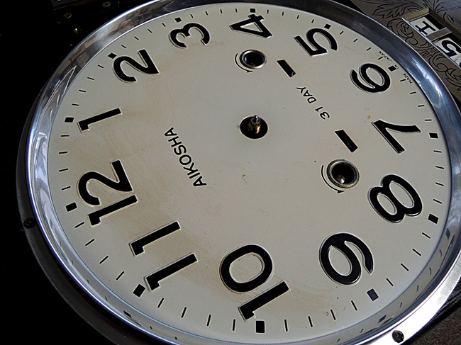AIKOSHA(愛工舎)製 31DAY カレンダー・文字盤