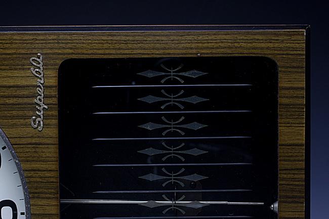 AICHITOKEI Super60 60日巻 レトロ柱時計|ゼンマイ式