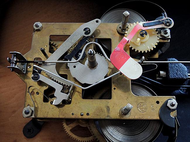 AICHITOKEI Super60 60日巻 レトロ柱時計|ボンボン時計ムーブメント