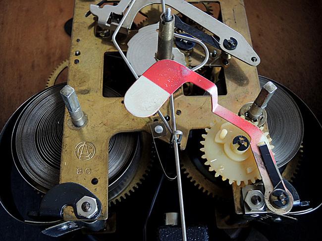 AICHITOKEI Super60 60日巻 レトロ柱時計|ボンボン時計