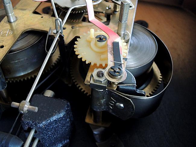AICHITOKEI Super60 60日巻 レトロ柱時計|ゼンマイ式動作良好