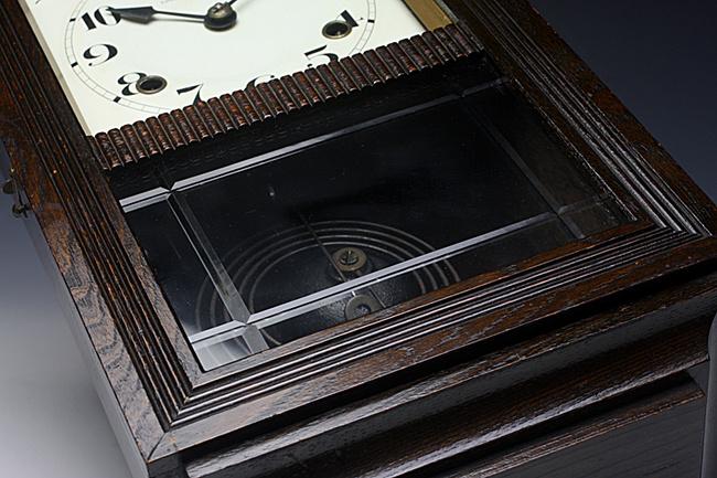 SEIKOSHA(精工舎)製 レトロ柱時計|ガラスのパターン