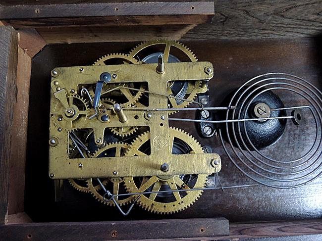 SEIKOSHA(精工舎)製 レトロ柱時計|ゼンマイ式ボンボン時計ムーブメント