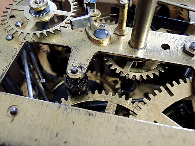 SEIKOSHA(精工舎)製 レトロ柱時計|拡大写真