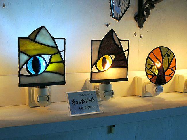 ステンドグラスフットライト・足元ライト・ナイトライト体験会画像Amiseアミーゼ