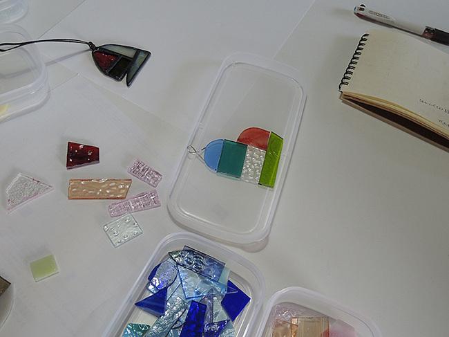 新潟市秋葉区・ステンドグラス体験教室・画像