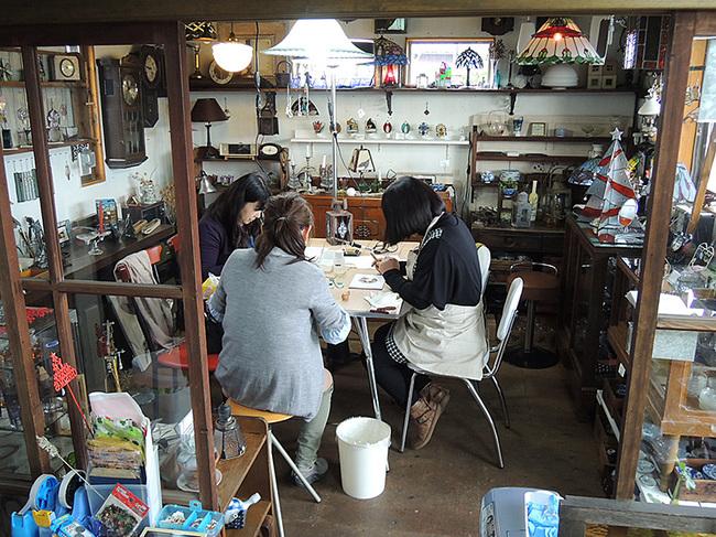 新潟市秋葉区・ステンドグラス手作り教室