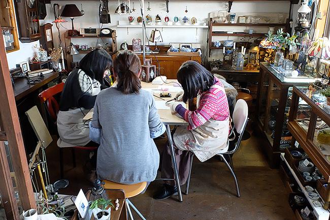 新潟市秋葉区・ステンドグラス手作り教室・画像