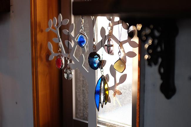 ガラス製ペンダントヘッドAmiese(アミーゼ)ステンドグラス雑貨販売・手作り体験教室・新潟市秋葉区