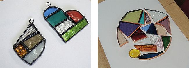 ステンドグラス手作り体験教室・ワークショップ制作キット・お任せデザイン