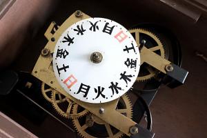 レトロ感漂う存在感!愛知時計(AICHITOKEI)レトロ柱時計