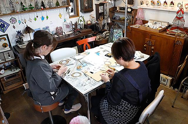 ステンドグラス足元ライト制作キット・体験教室新潟市