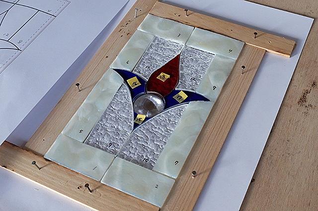 ステンドグラスのミニパネル製作・体験教室新潟市
