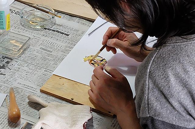 ステンドグラス製作・体験教室新潟市秋葉区