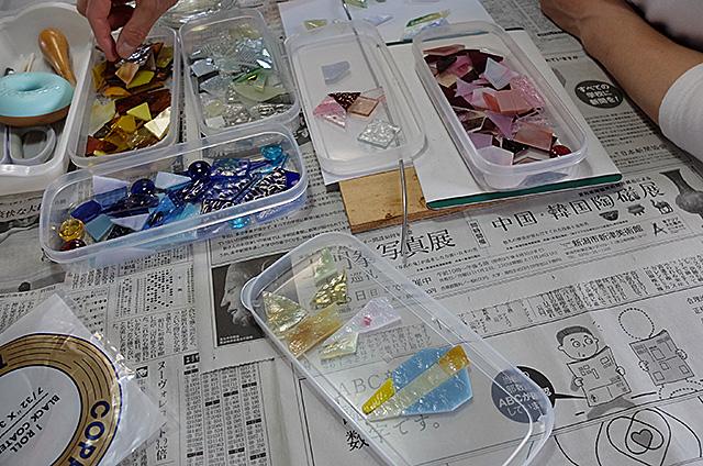 ステンドグラスペンダント製作・体験教室新潟市