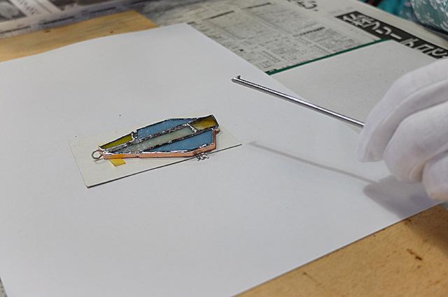 ステンドグラスペンダント製作・体験教室新潟市秋葉区