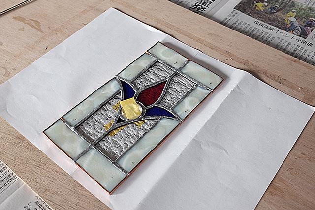 ステンドグラスミニパネル製作・体験教室新潟市秋葉区