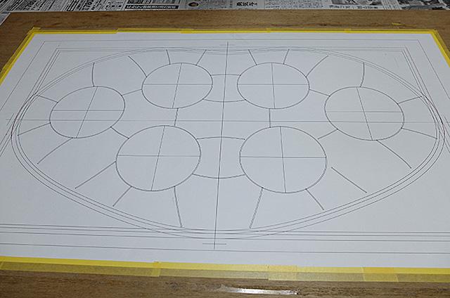 秋葉区Amieseアミーゼ・カサ・バトリョ風ステンドグラス製パネル