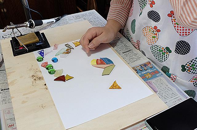 新潟市Amieseアミーゼ・ステンドグラス体験教室