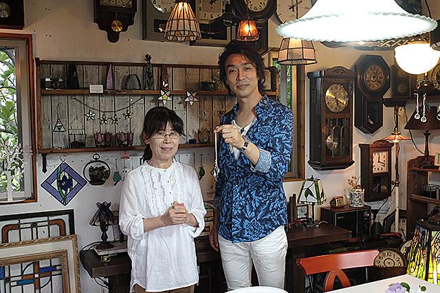 Amieseアミーゼ・TeNY「新潟一番!」渋谷 文太郎さんがステンド体験