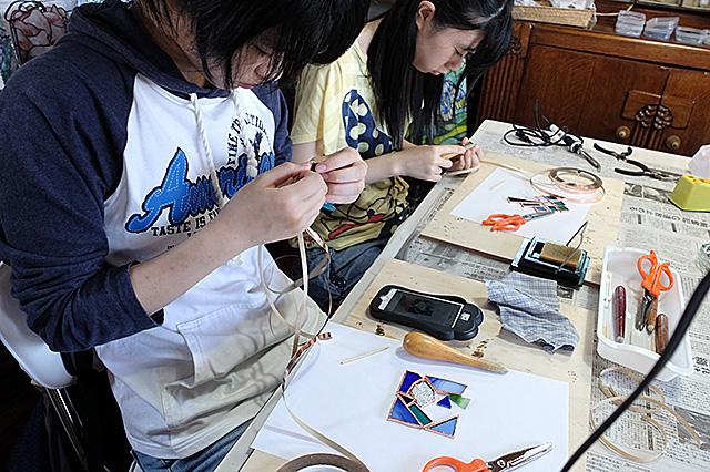 新潟市秋葉区・夏休み自由工作親子体験会20160807-07