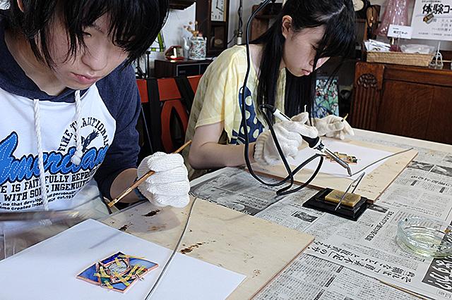 新潟市秋葉区・夏休み自由工作親子体験会20160807-08