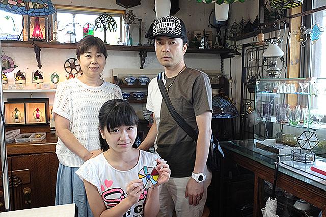 秋葉区・夏休み自由工作親子ステンドグラス1日体験 20160807-10