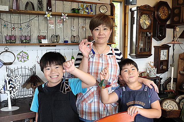新潟市秋葉区・夏休み自由工作親子体験会20160810-09