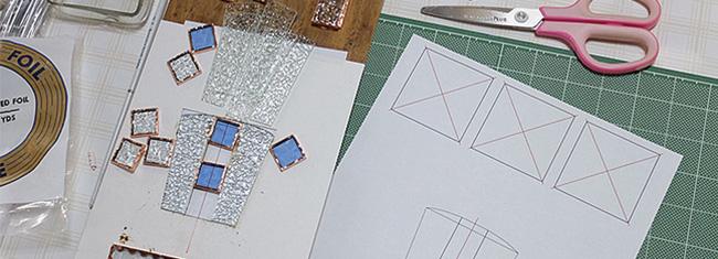 ステンドグラス体験教室・オリジナルデザイン