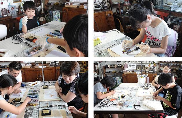 新潟市-夏休み自由工作親子体験