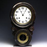 珍しい模様の精工舎(SEIKOSHA)ダルマ時計