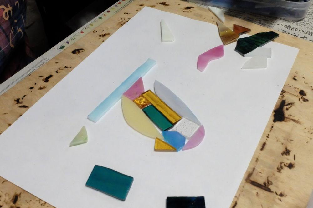 新潟市のステンドグラス教室 Amiese(アミーゼ)手づくり工房| 教室、1日体験01