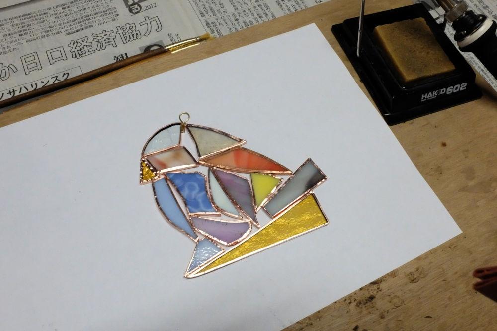 新潟市のステンドグラス教室 Amiese(アミーゼ)| 1日体験・カルチャースクー02