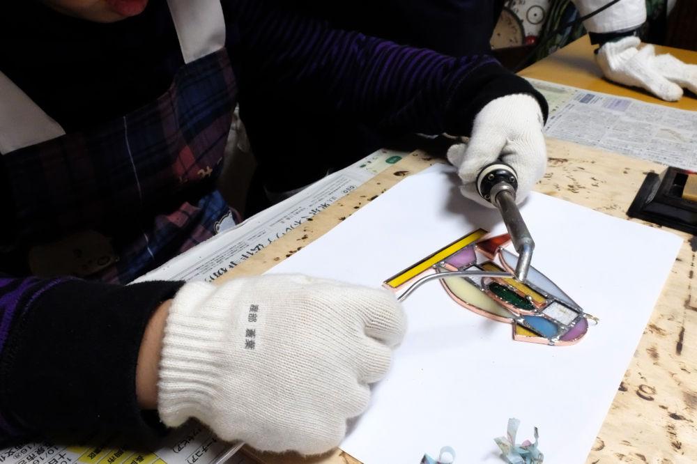 新潟市のステンドグラス教室 Amiese(アミーゼ)| 1日体験・カルチャースクー03