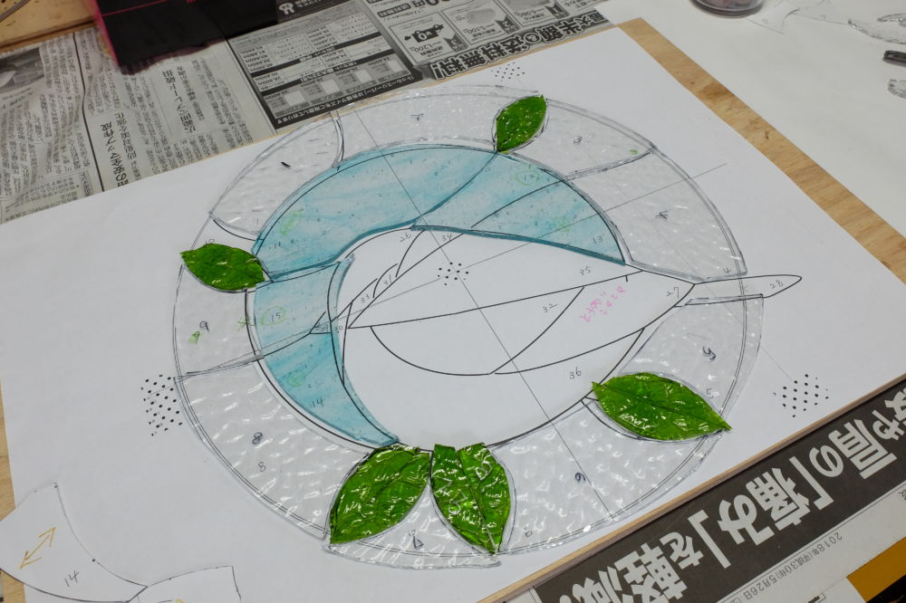 新潟市秋葉区・ステンドグラス教室・1日体験・Amiese(アミーゼ)